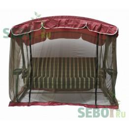 Москитная сетка SEBO для садовых качелей Сорренто Бордо